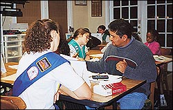 Girl Scouts trained in the Study Technology of L. Ron Hubbard