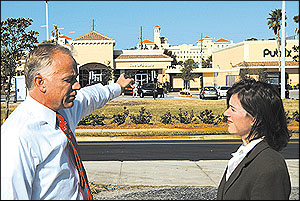 White Development Company's Jim White, and Church Downtown Relations Director Lisa Mansell