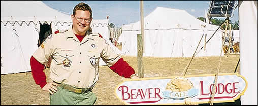Scout Master - Ed Clarke