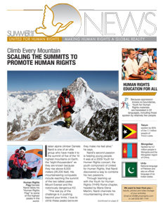 Newsletter Summer 2015