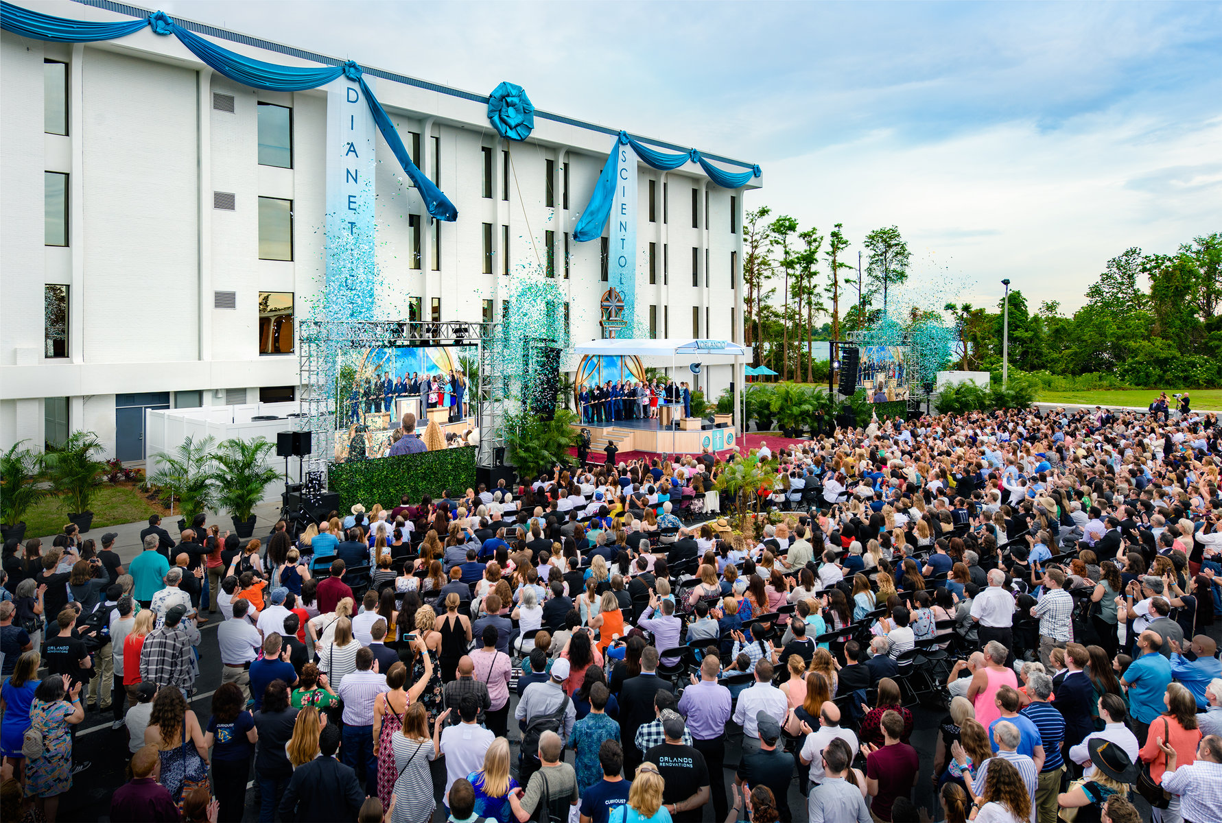 Grand opening of the Ideal Church of Scientology of Orlando