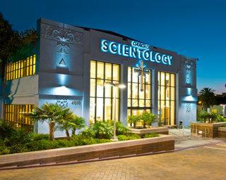 Scientologická církev v Los Angeles, založená v roce 1954