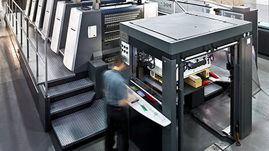 Dissemination and Distribution center sheet press