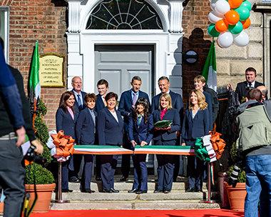 Ireland National Office opening