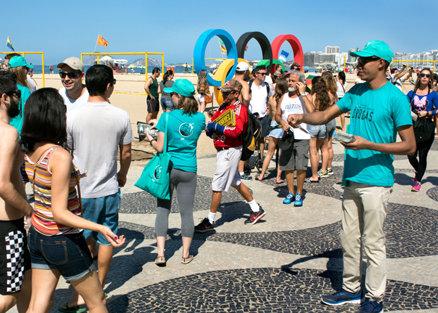 Rio booklet distribution