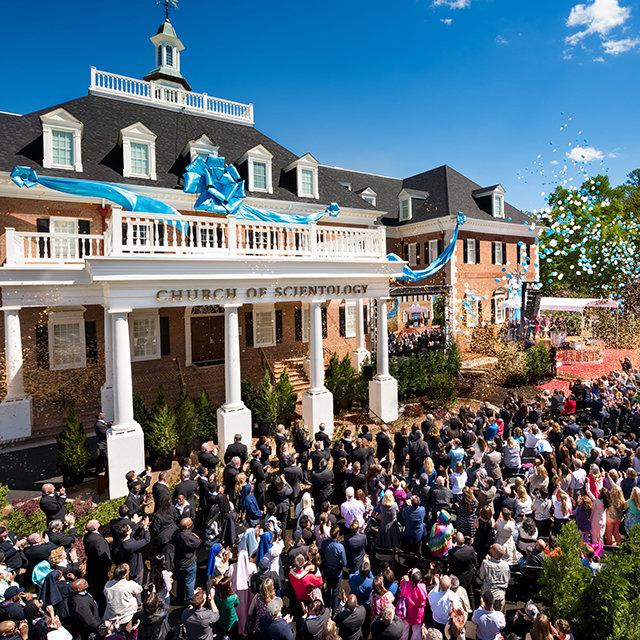 Grootse opening van de Scientology Kerk in Atlanta, Georgia