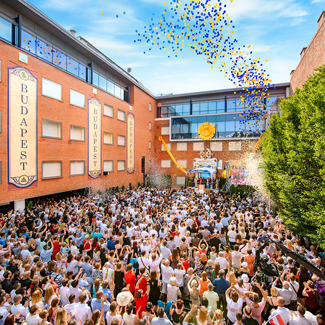 Grand opening of the Church of Scientology in Budapest, Hungary