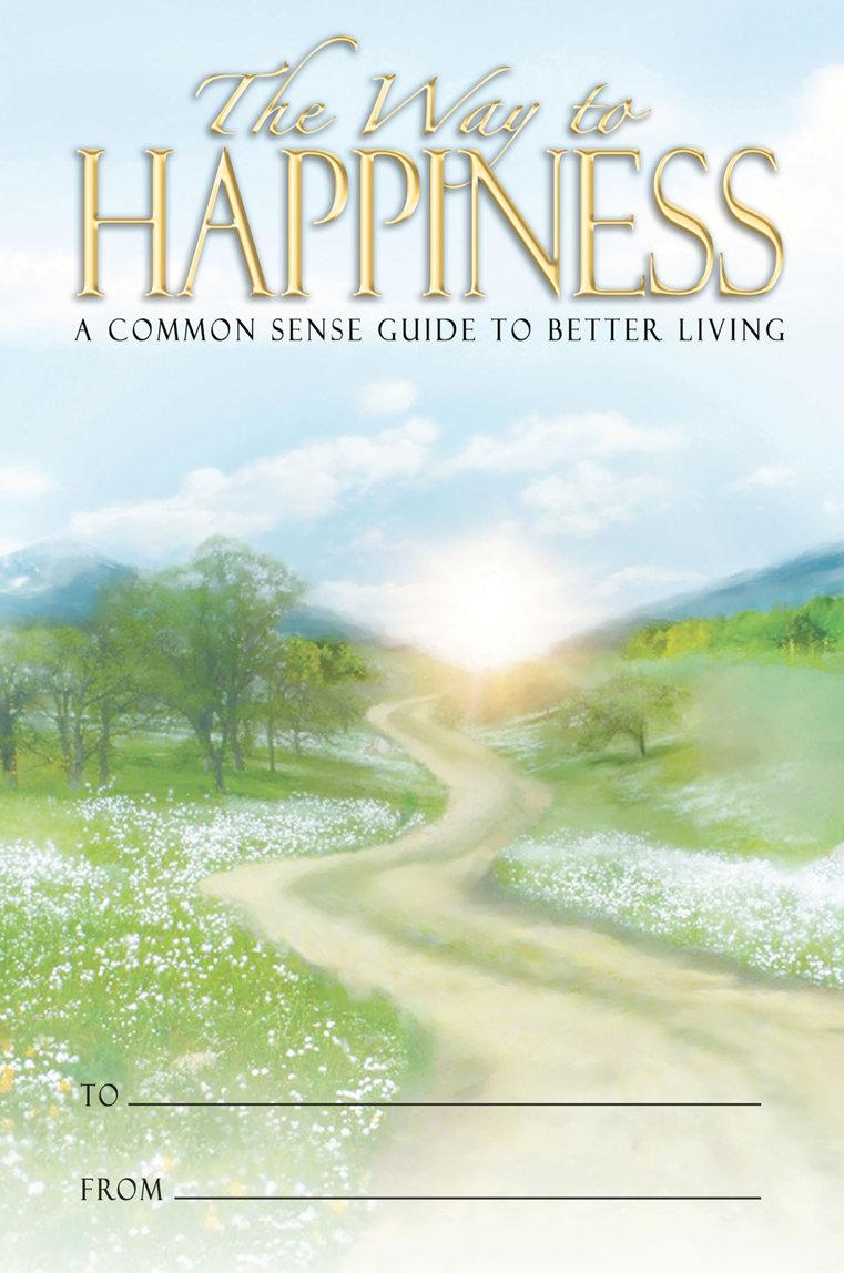 Het boekje De Weg naar een Gelukkig Leven.