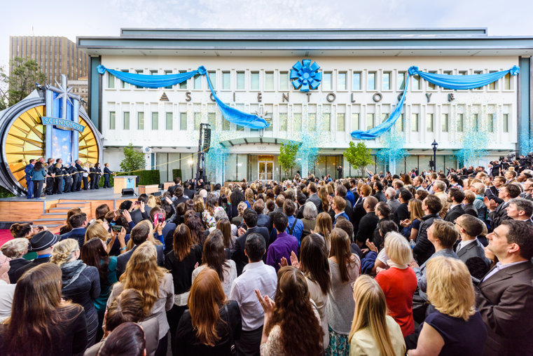 San Diego Church of Scientology opening