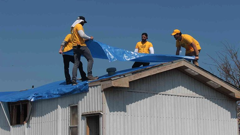 As many as 80 percent of the homes in Aransas County were damaged by Hurricane Harvey.