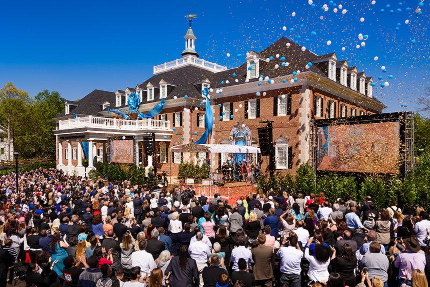 Otevření nové Ideální organizace Scientologické církeve v Atlantě v Spojených státech Amerických