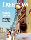 Freedom Magazine. Clearwater Building issue cover