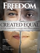 Freedom Magazine. Created Equal issue cover
