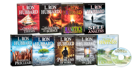 Dianetics & Scientology Beginning Audiobooks Package