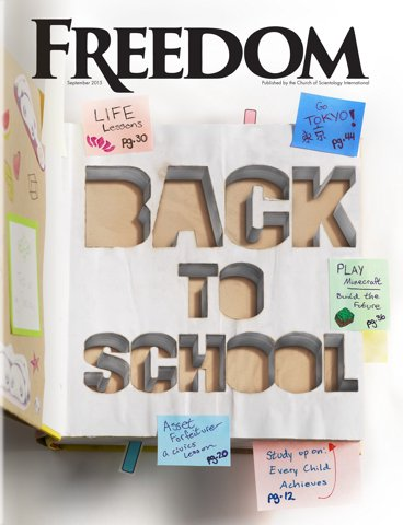 Freedom Magazine. September 2015