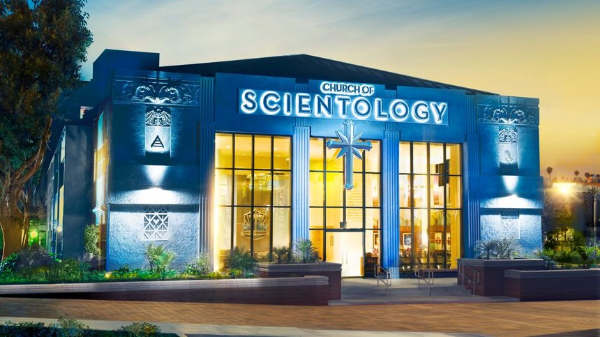 What does the Scientology church belive?